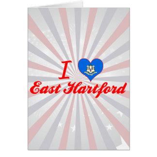I Love East Hartford, Connecticut Greeting Card