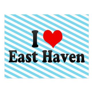 I Love East Haven, United States Postcard
