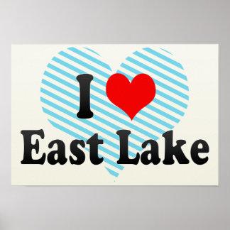 I Love East Lake, United States Print