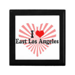 I Love East Los Angeles, United States Jewelry Boxes