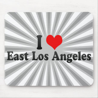 I Love East Los Angeles, United States Mouse Pads
