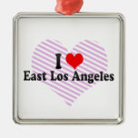 I Love East Los Angeles, United States Ornaments