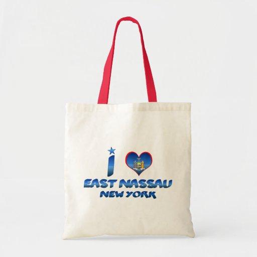 I love East Nassau, New York Bag