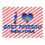 I love East Nassau, New York Postcard