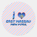 I love East Nassau, New York Sticker
