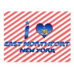 I love East Northport, New York Postcards