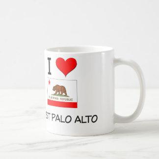 I Love EAST PALO ALTO California Coffee Mug