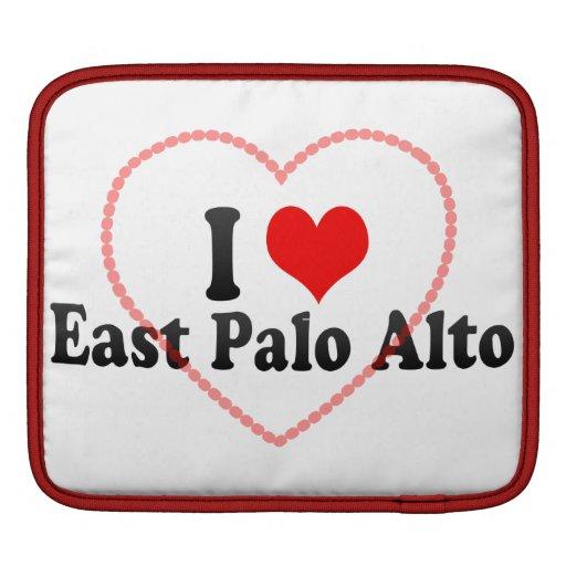 I Love East Palo Alto, United States iPad Sleeve