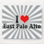 I Love East Palo Alto, United States Mouse Pad