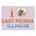 I Love East Peoria, IL Cards