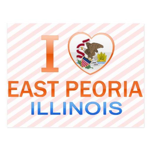 I Love East Peoria, IL Post Card