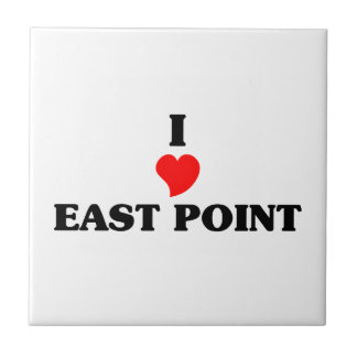 I love East Point Small Square Tile