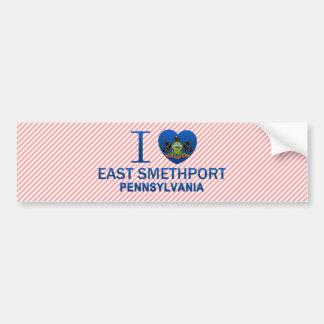 I Love East Smethport, PA Bumper Sticker