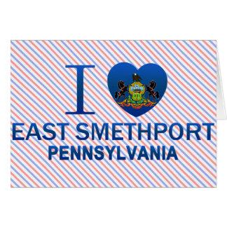 I Love East Smethport, PA Greeting Card