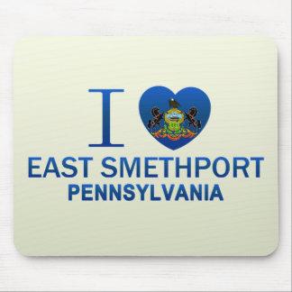 I Love East Smethport, PA Mousepads