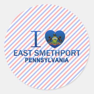 I Love East Smethport, PA Stickers