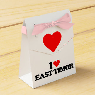 I LOVE EAST TIMOR FAVOR BOX
