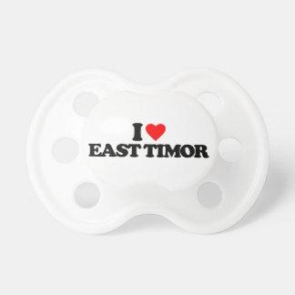 I LOVE EAST TIMOR PACIFIER