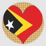 I Love East Timor Stickers