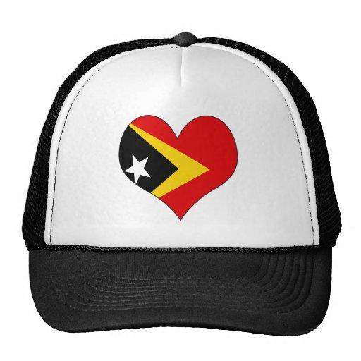 I Love East Timor Trucker Hat