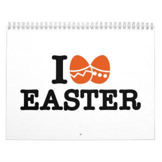I love Easter Calendar