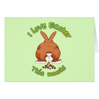 I Love Easter Cards