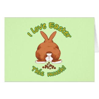 I Love Easter Cards