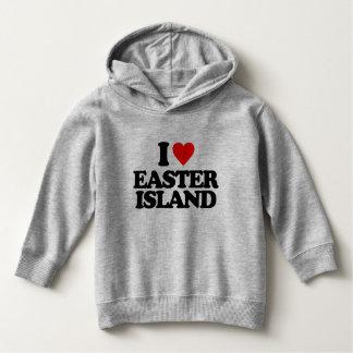 I LOVE EASTER ISLAND HOODIE