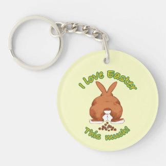 I Love Easter Key Chains