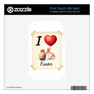 I love Easter Skin For iPod Touch 4G
