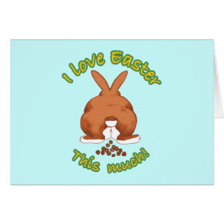 I Love Easter So Much Greeting Cards