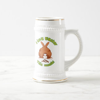 I love Easter this much Beer Stein 18 Oz Beer Stein