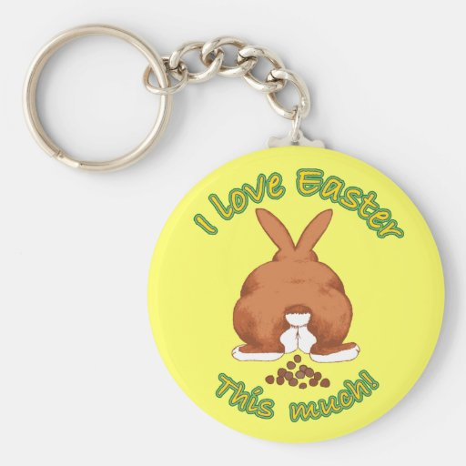 I love Easter this much Keychain