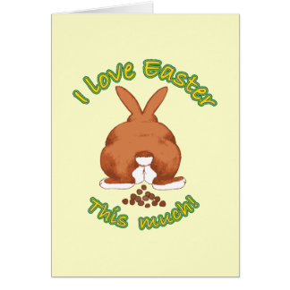 I Love Easter This Much Notecard Greeting Card