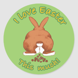 I love Easter this much Sticker