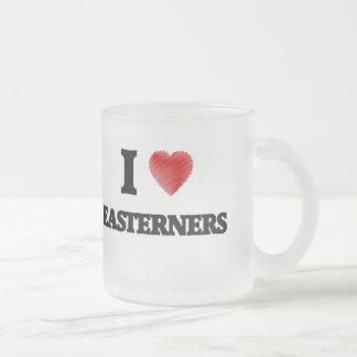 I love EASTERNERS Frosted Glass Coffee Mug