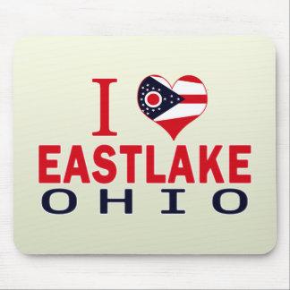 I love Eastlake, Ohio Mousepad