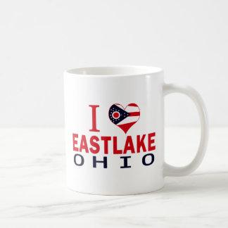 I love Eastlake, Ohio Mugs