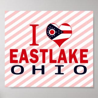 I love Eastlake, Ohio Posters