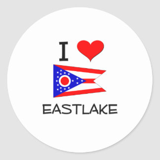 I Love Eastlake Ohio Sticker