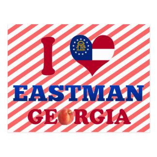 I Love Eastman, Georgia Postcard