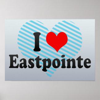 I Love Eastpointe, United States Print
