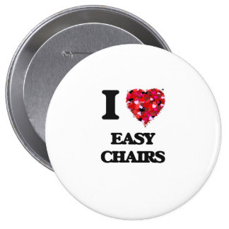 I love EASY CHAIRS 4 Inch Round Button