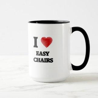 I love EASY CHAIRS Mug