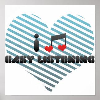 I Love Easy Listening Print