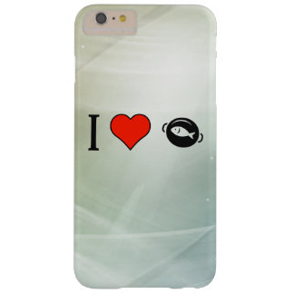 I Love Eating Fish Barely There iPhone 6 Plus Case