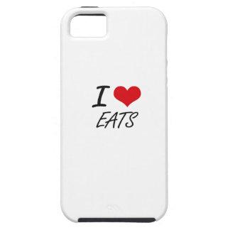I love EATS iPhone 5 Cover