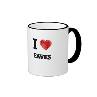 I love EAVES Ringer Mug