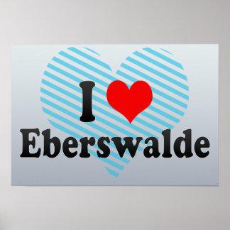 I Love Eberswalde, Germany Poster