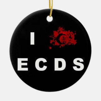 I love ECDS Ornament
